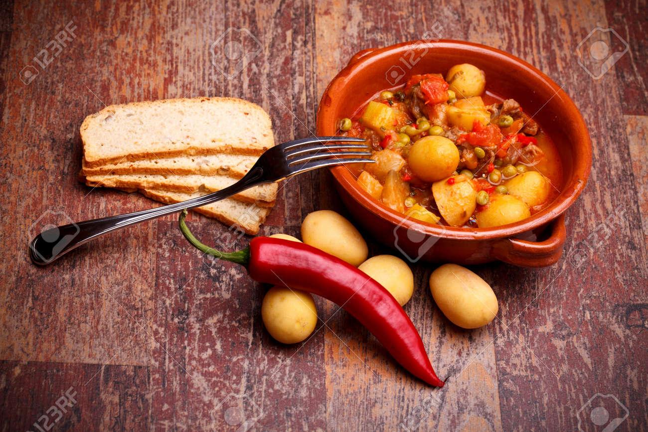 Cocina Internacional - Recetas Rumano - Guiso De País Con Verduras Y ...