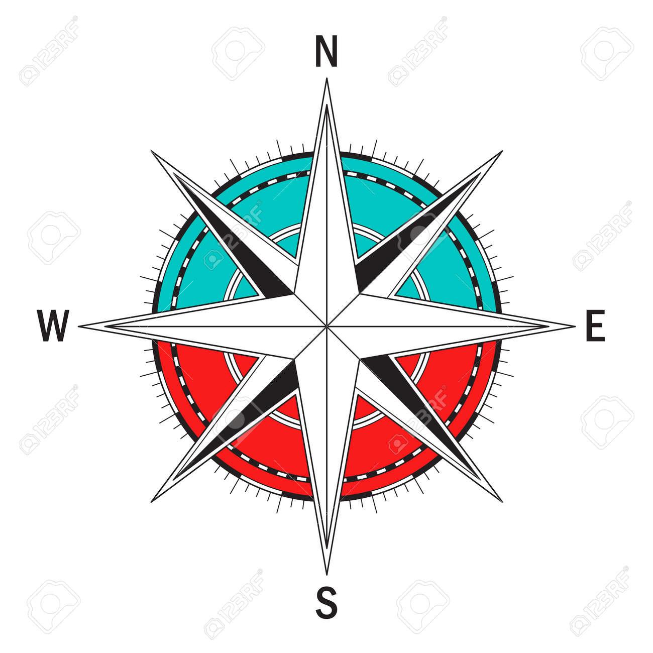 vector compass vector geo mark wind rose isolated vector compass rh 123rf com compass vector free compass vector ai