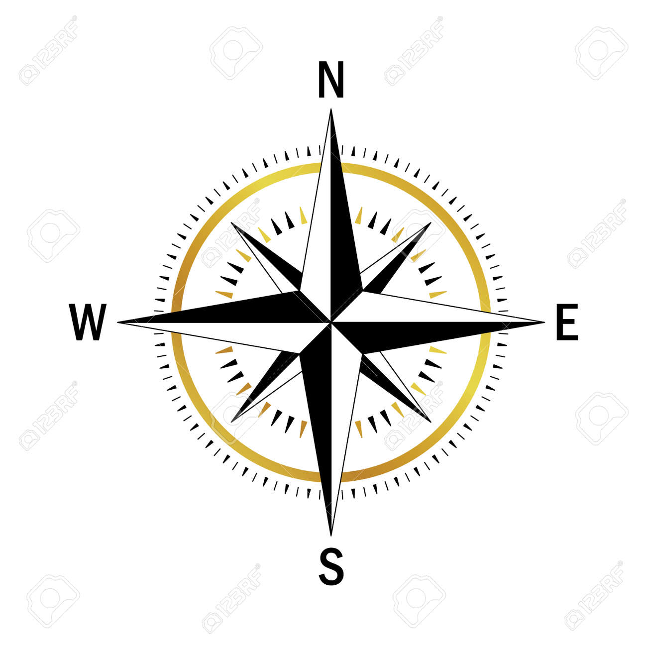 isolated vector compass vector geo mark wind rose rose wind rh 123rf com free compass vector image free compass vector art
