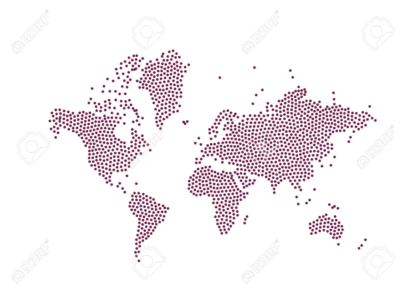 World map isolated on white background flat world earth world map isolated on white background flat world earth illustration stock vector 84572109 gumiabroncs Image collections