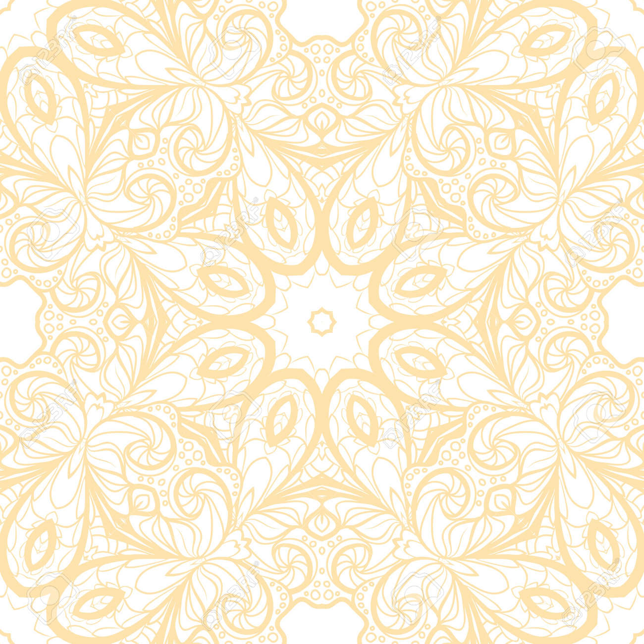 Abstract Beige Seamless Pattern One Color. Pattern Can Be Used ...