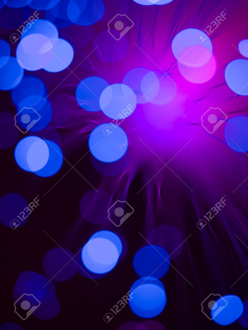 Abstract Wallpaper With Macro Of A Fiber Optics Light Wand With