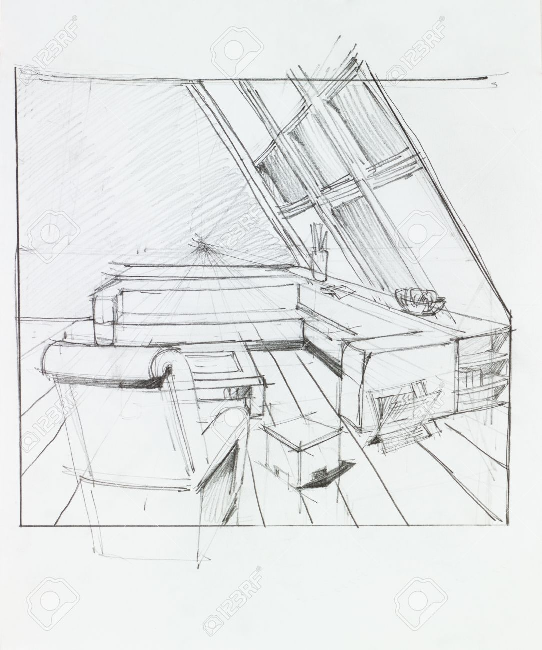 Attic Drawing
