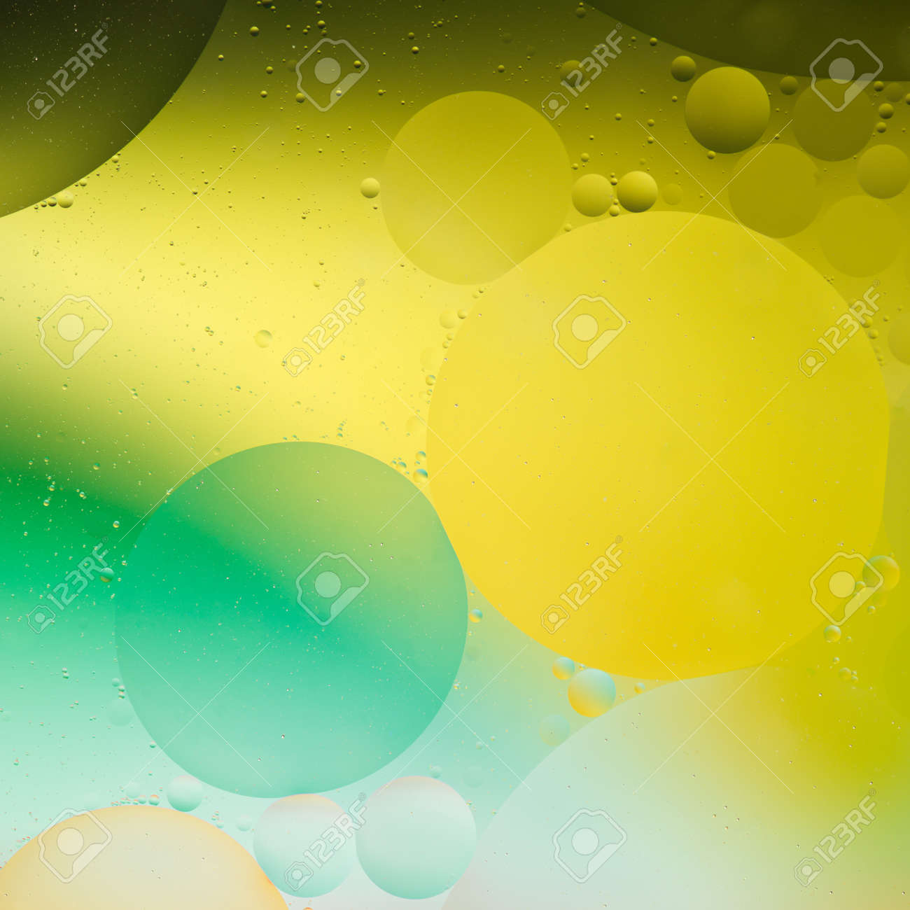 Creative Colorful Wallpaper, Oil On Water Stock Photo, Picture And ...