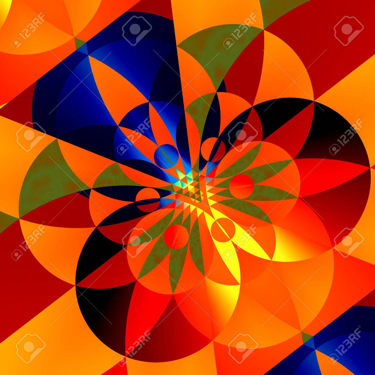 geometric background for design artworks colorful abstract