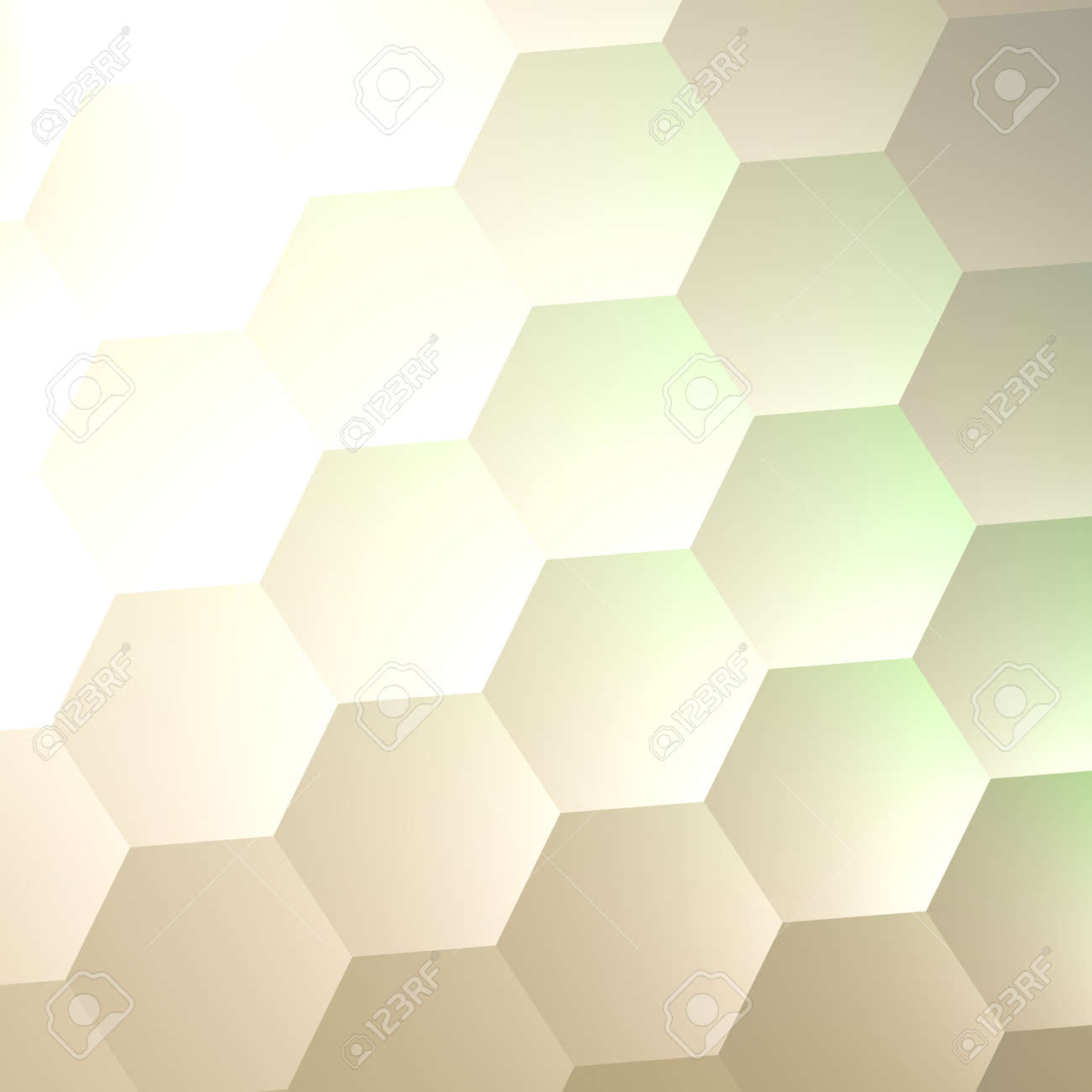 stock photo white hexagon wall background simple blank copy space lots of hexagons abstract quilted soft hex shapes poster banner or flyer - Simple Shapes Wall Design