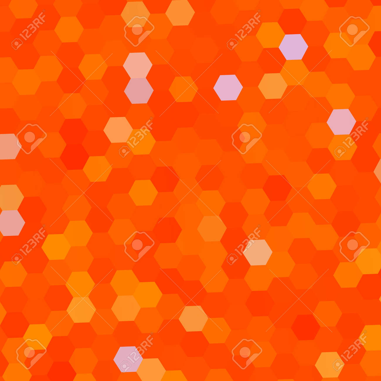 abstract background with orange color pattern business card stock