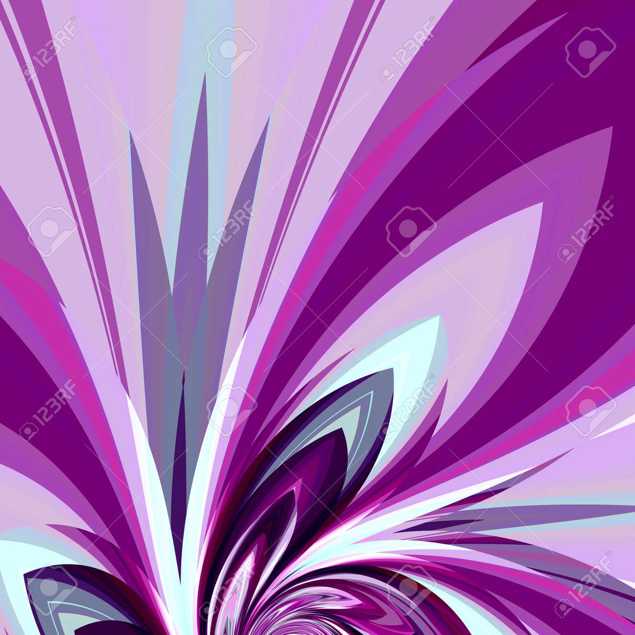 Art Diseño Ilustración Para La Tarjeta De Invitación Resumen De Antecedentes Elemento De Fantasía Digital Imagen De La Hermosa Flor Abstracción