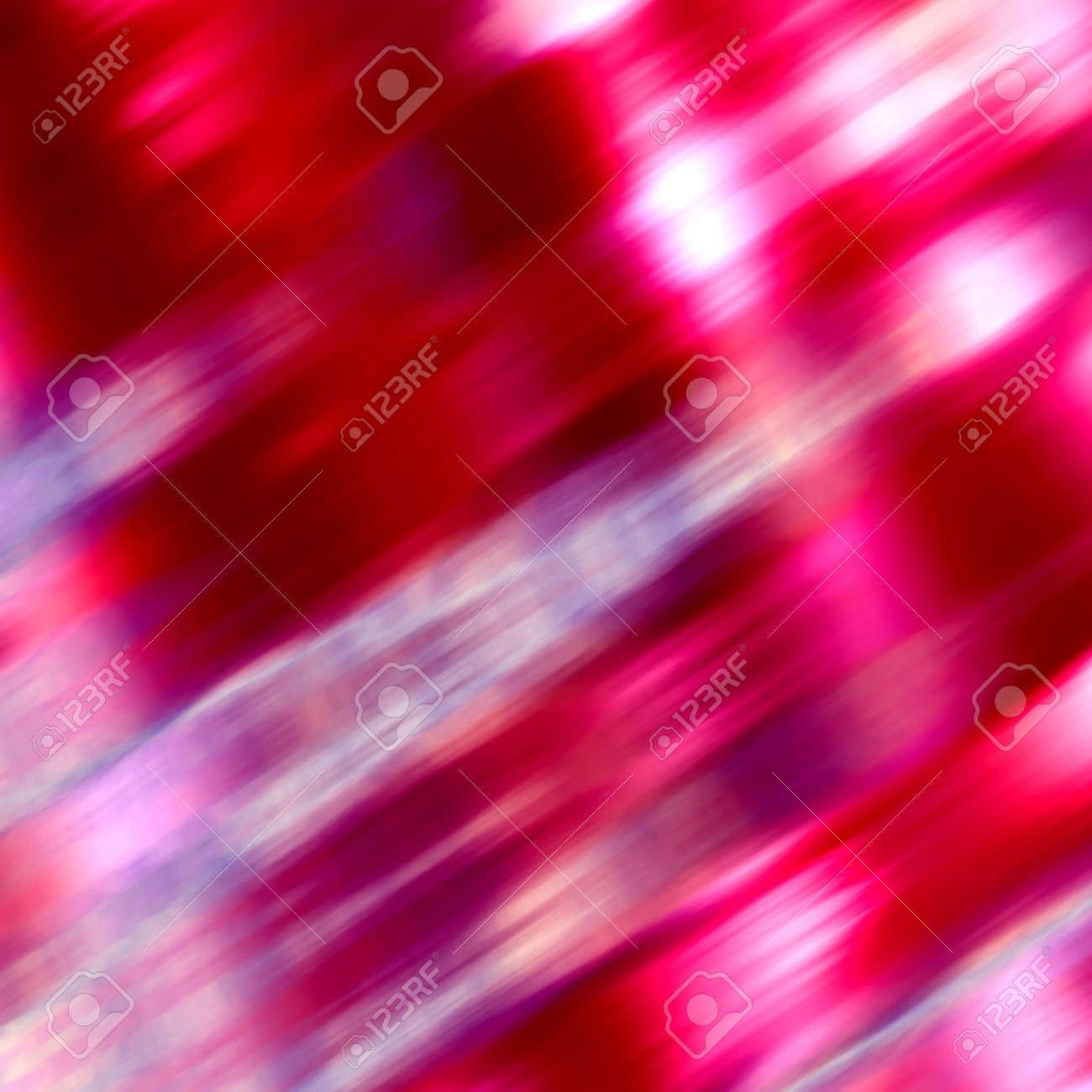 Strahlend Weiße Und Rote Schmiert. Weiche Lebendige Glühen. Kühle ...