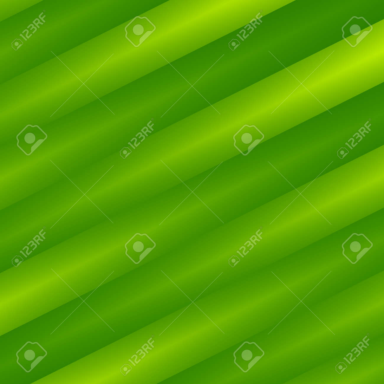Diagonal Blending Green Stripes Background. Odd Artistic Tilt. Blank Logon  Screen Design. Virtual