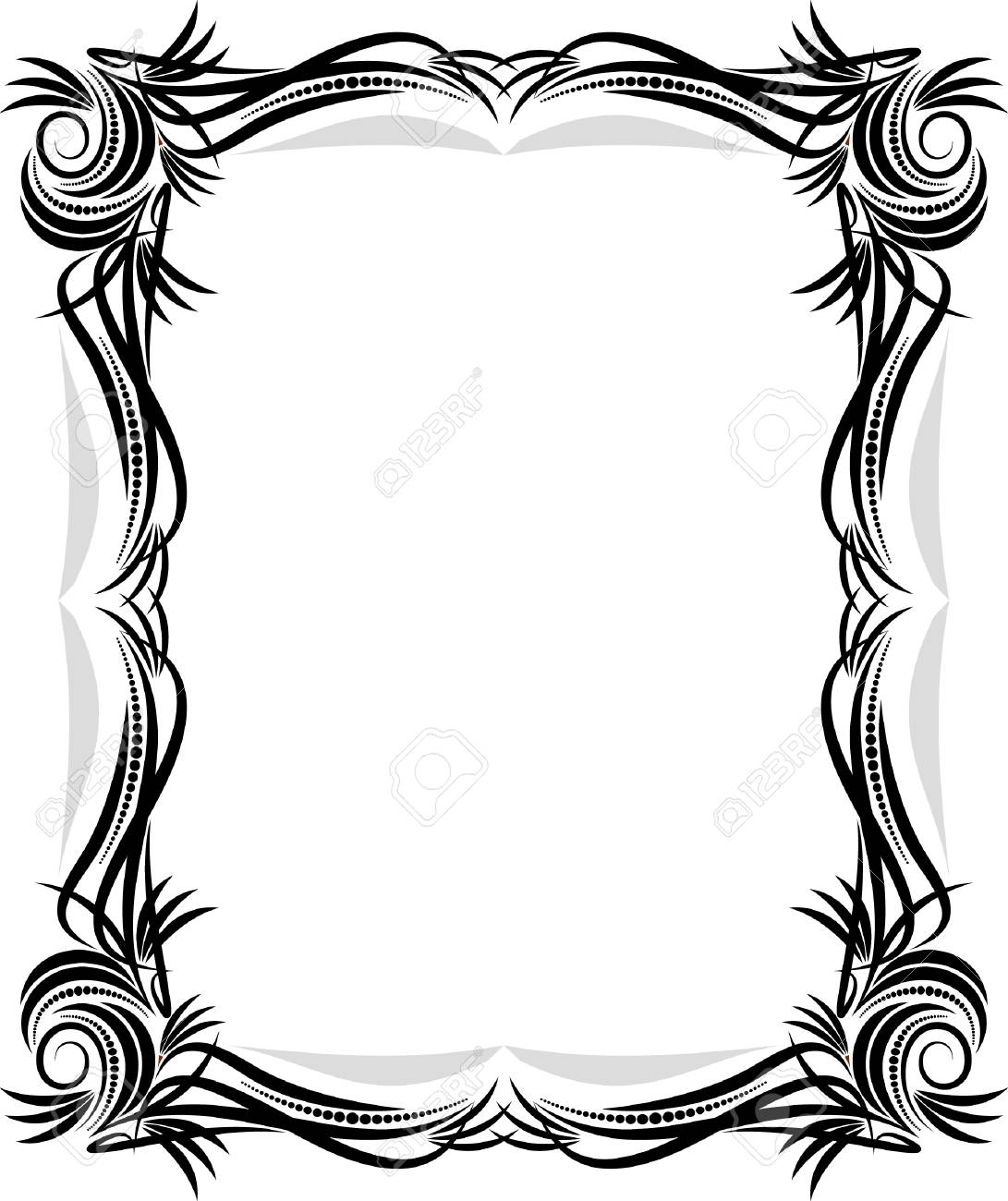 Classical Vector Frame. Royalty Free Cliparts, Vectors, And Stock ...