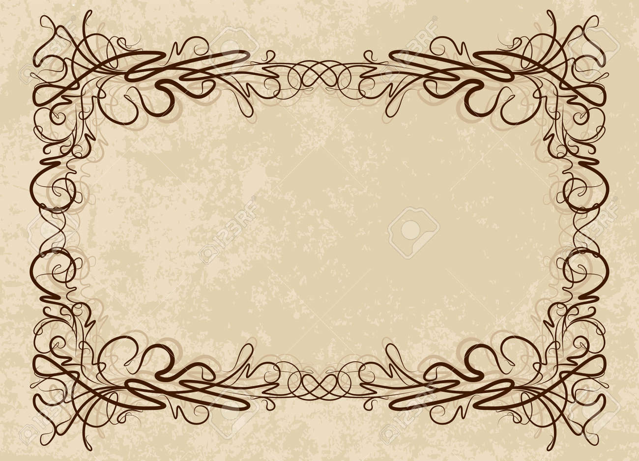 Elegant vintage frame - 9930245