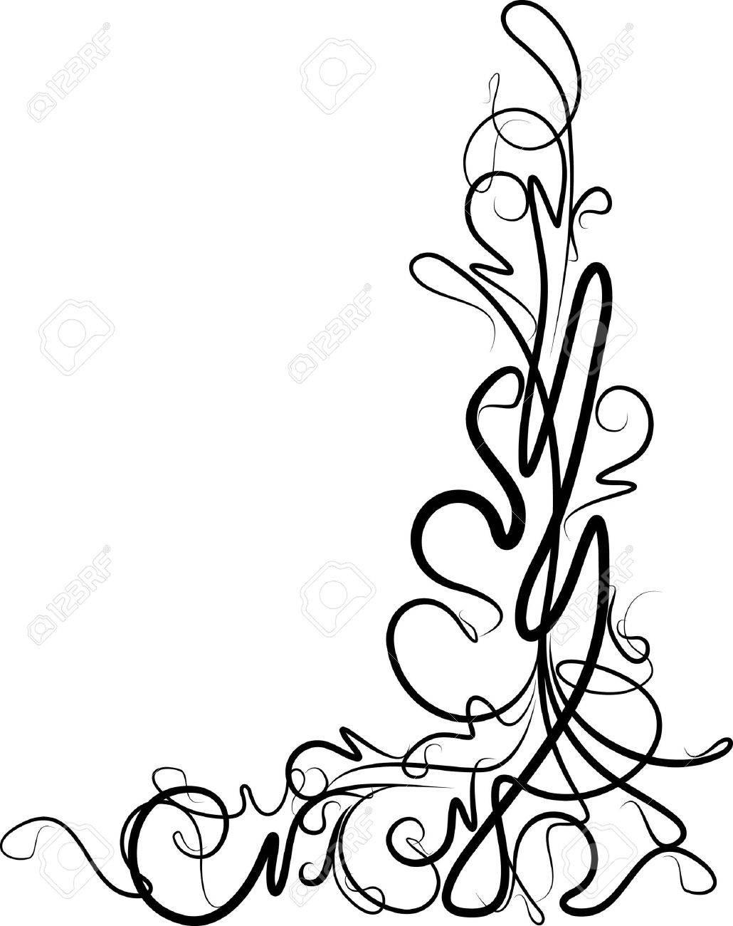 beautiful floral corner - 9930096
