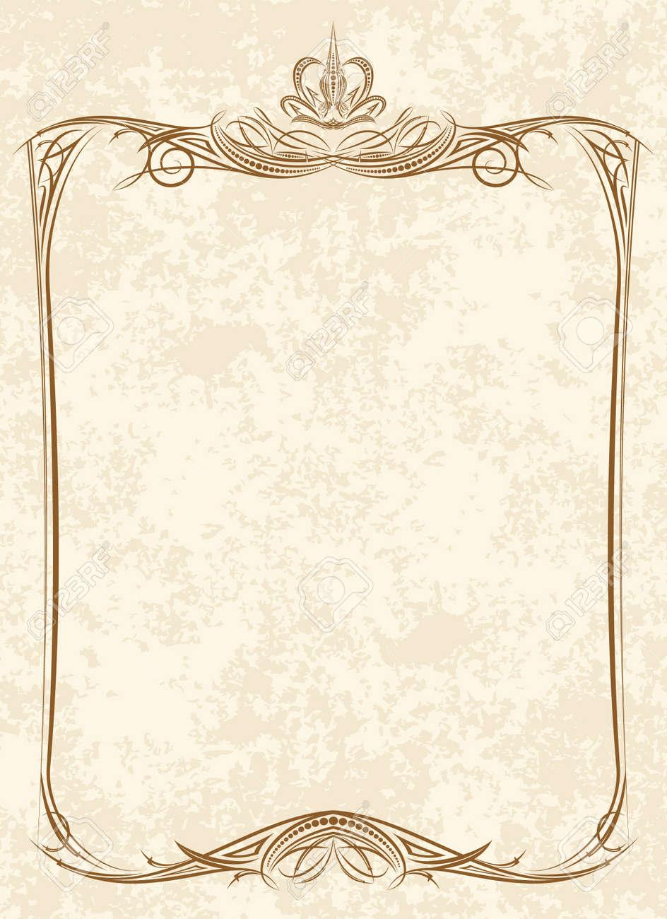 Old frame - 9930493