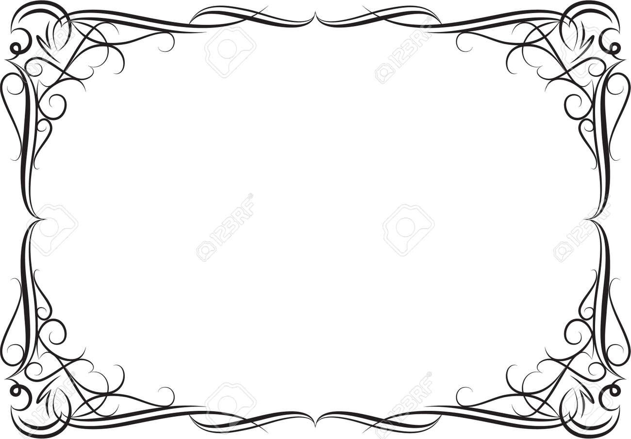 Elegant decorative frame. - 10707251