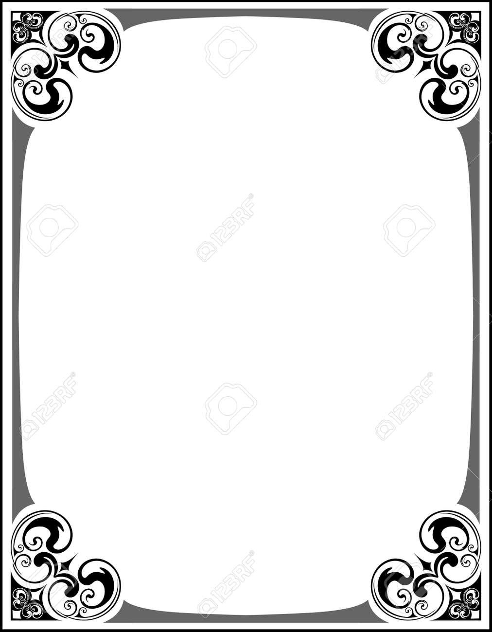 Elegant decorative frame. - 10707284