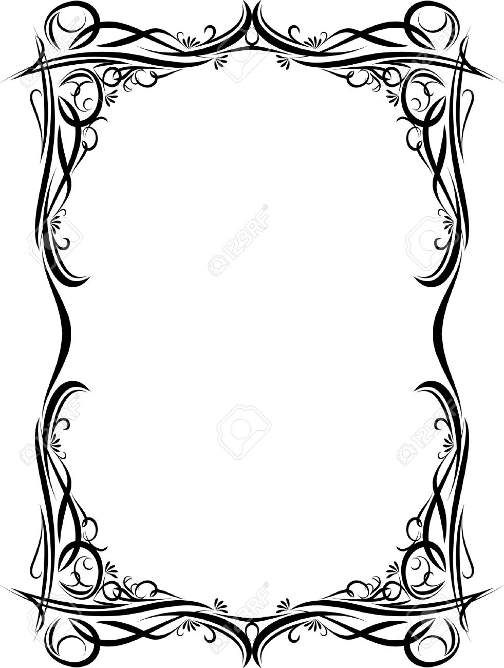 Elegant decorative frame. Stock Vector - 10708775