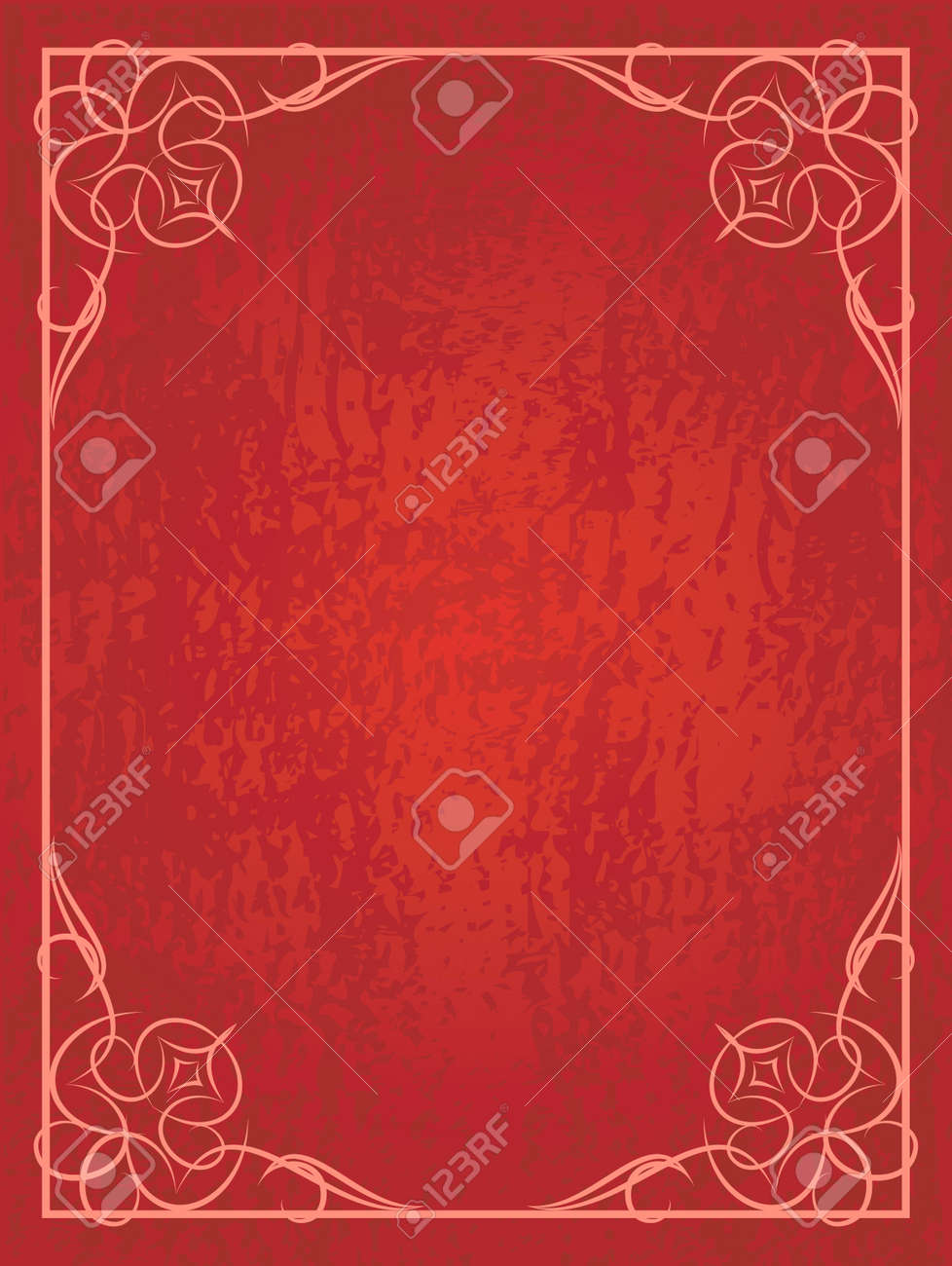 red flower background.html