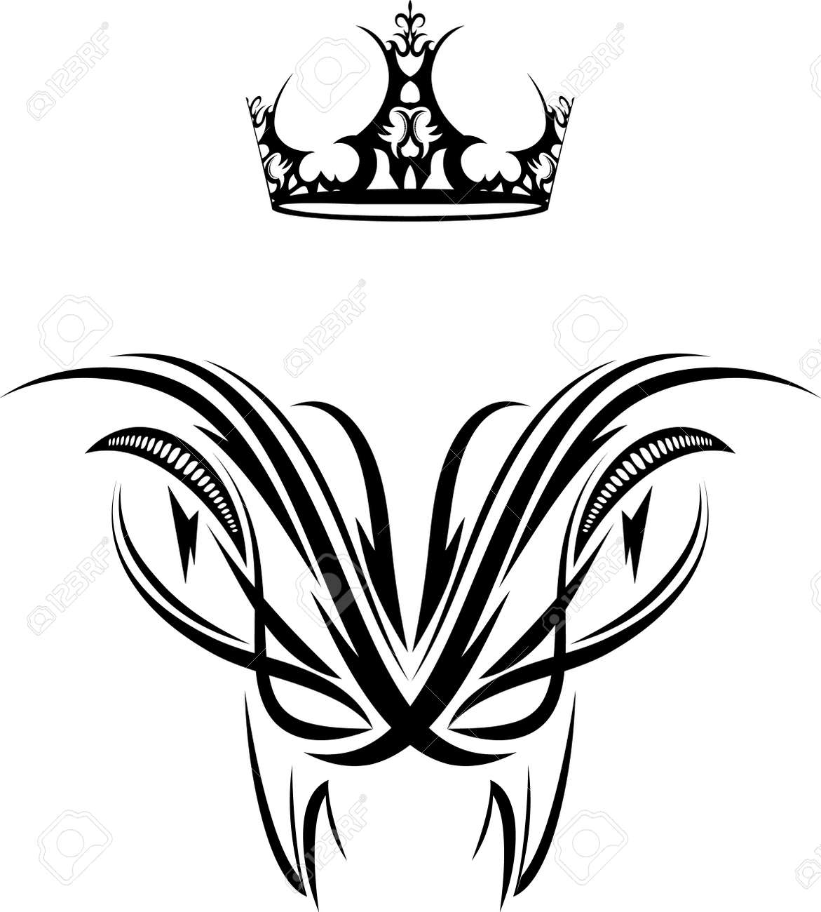 Queen Crown Tattoos Tribal  tattoo  crown  tribal