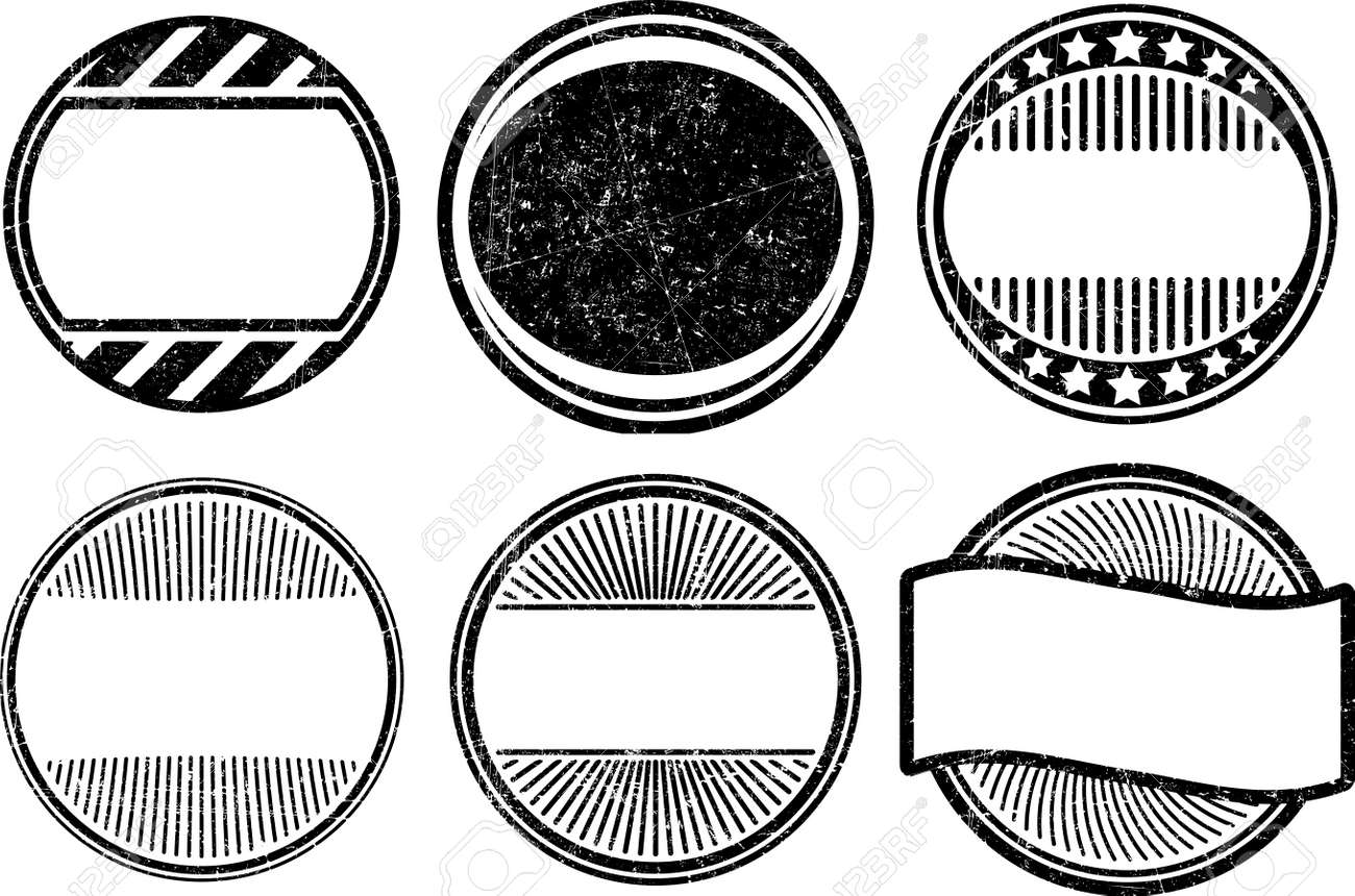 set of grunge rubber stamps templates stock photo picture and