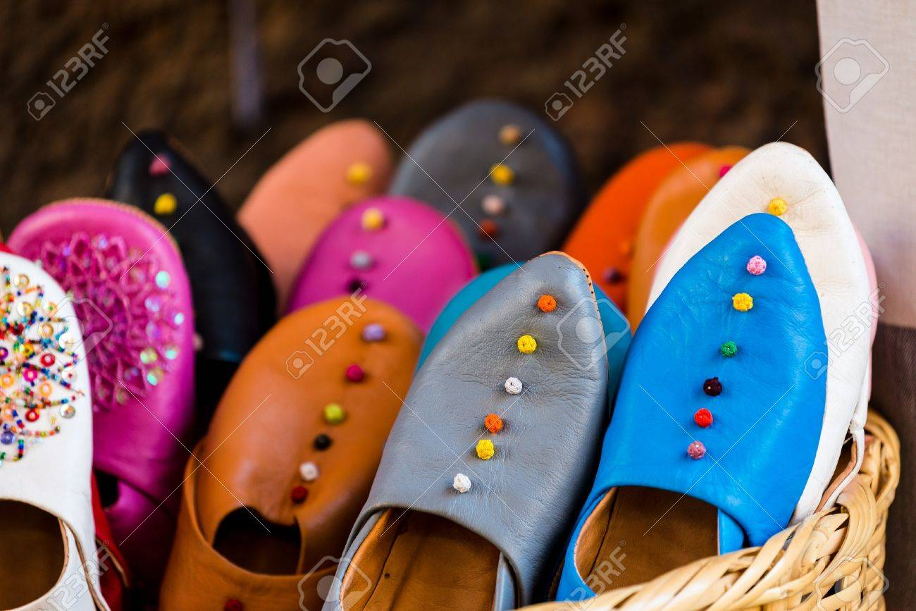 f14f5087858 traditional moroccan shoes Stock Photo - 47116269