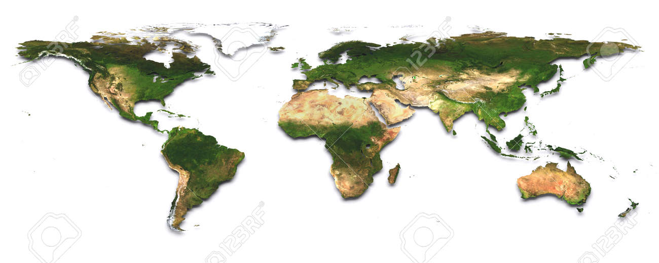 World map 3d image the earth texture of this image furnished world map 3d image the earth texture of this image furnished by nasa http visibleearth nasa gumiabroncs Images