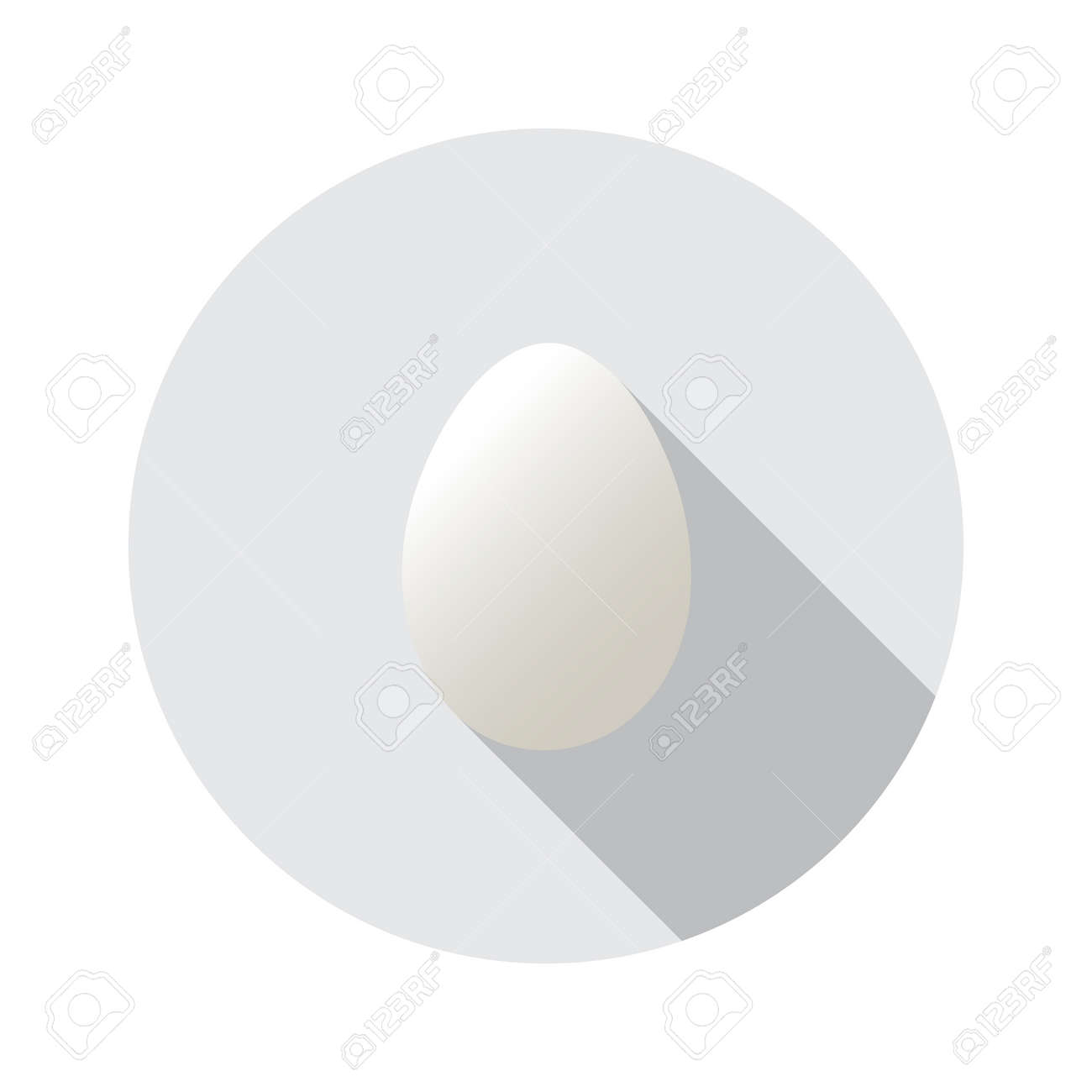 Realistic Vector Shape Of Egg Easter Egg Shape And Isolated