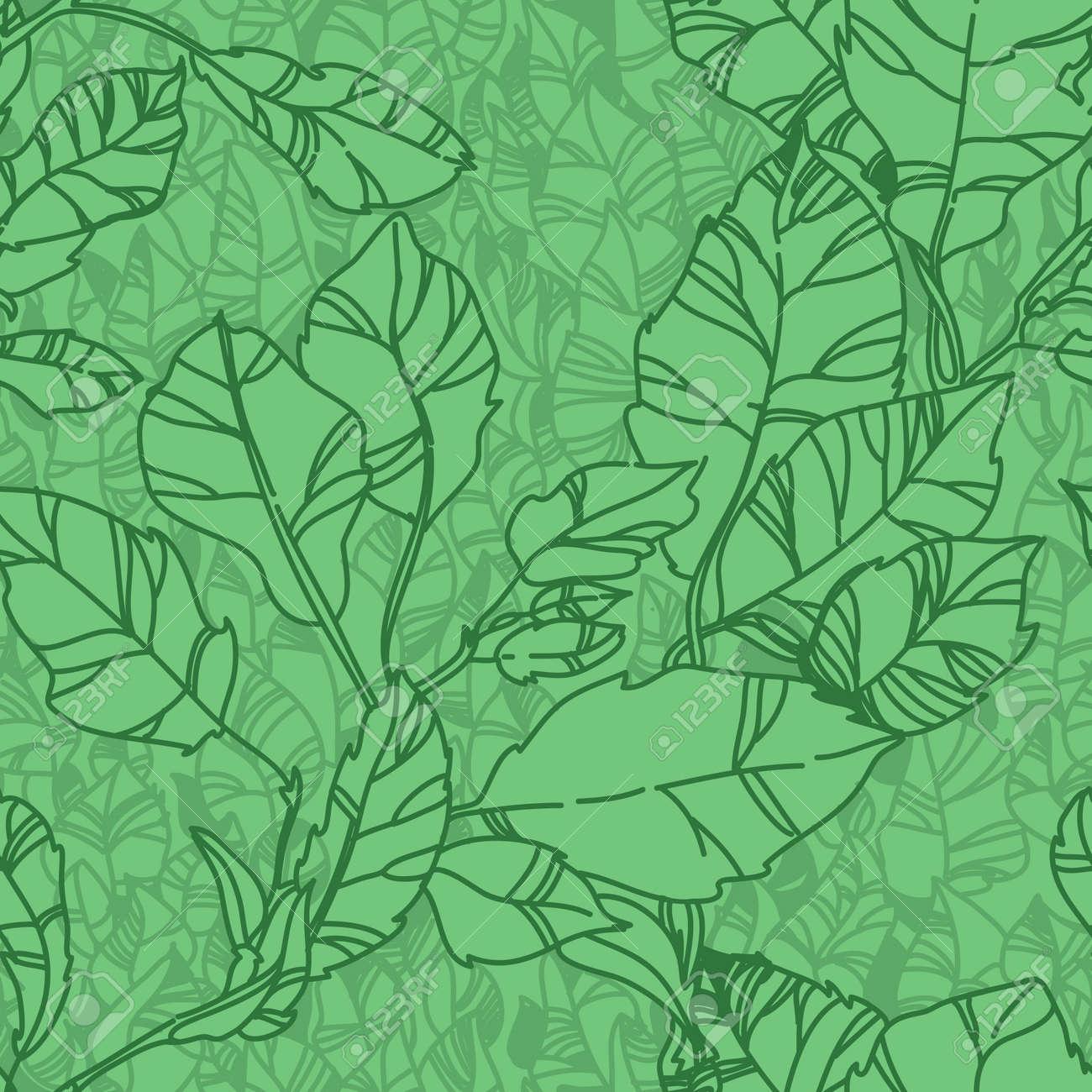 green pattern with leaf,summer leaf background - 14315515