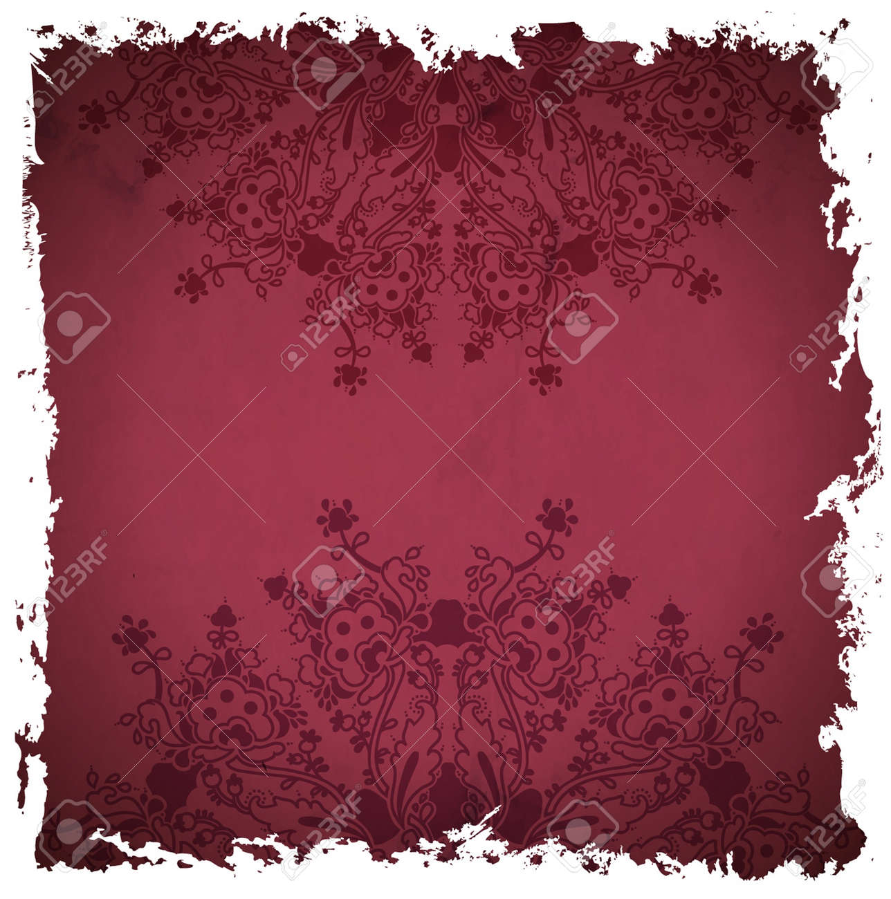 ornamental  floral  background with many details Stock Vector - 16983832
