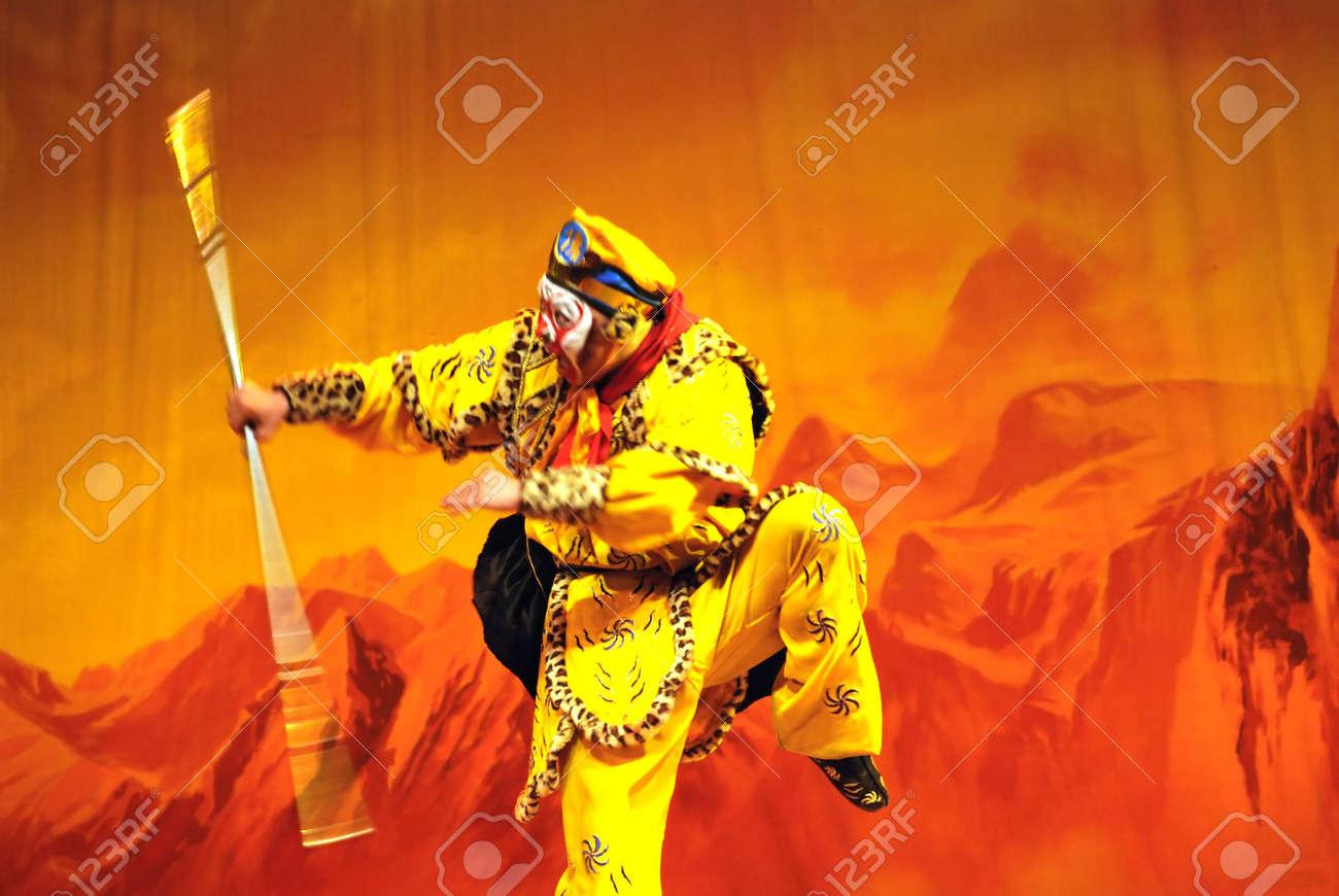 china Opera Monkey King Stock Photo - 6825892