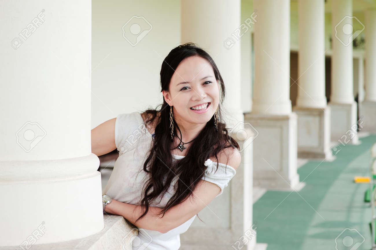 asian woman tooth smile Stock Photo - 7346525