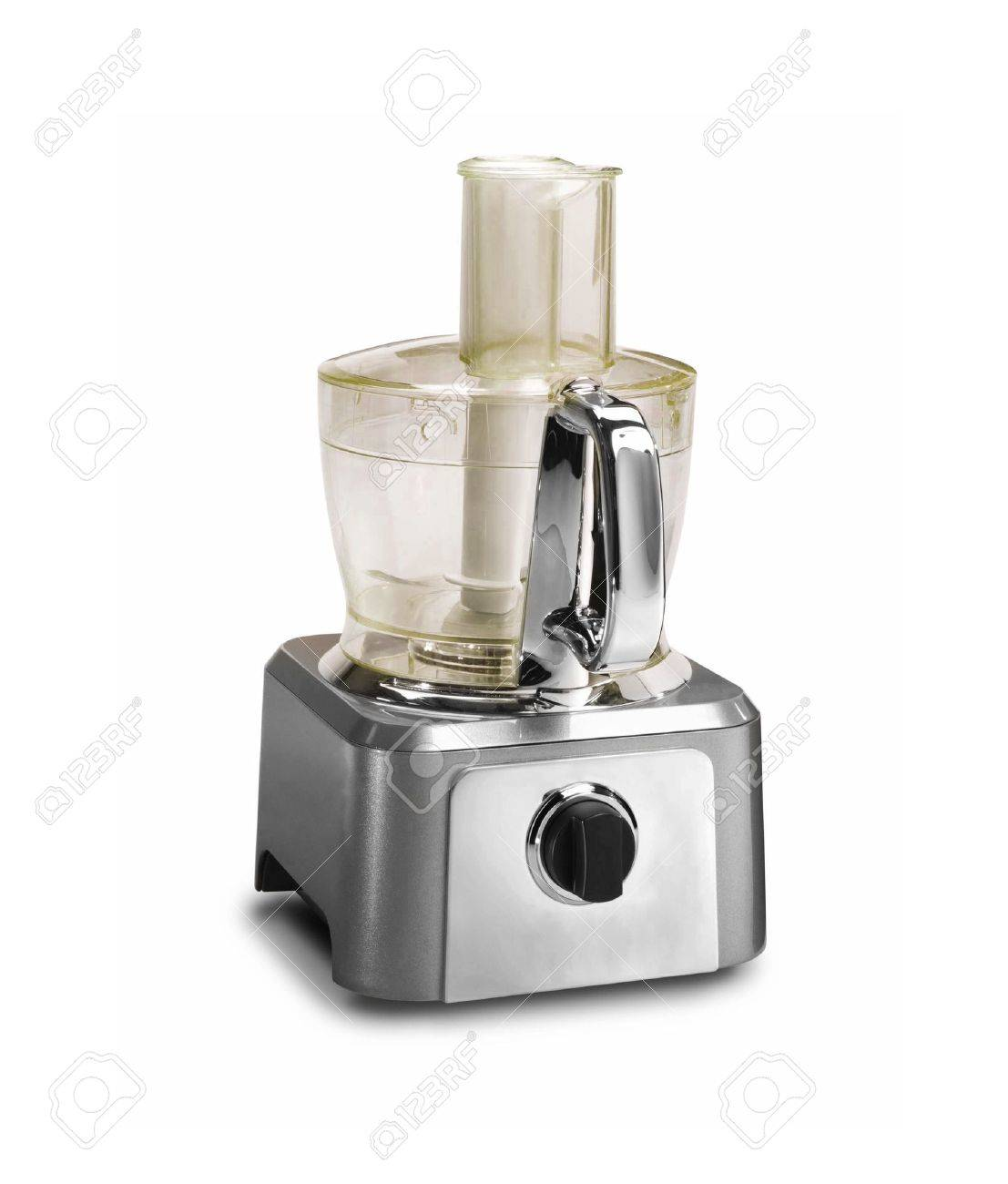 Food processor isolated on a white background Stock Photo - 10351414