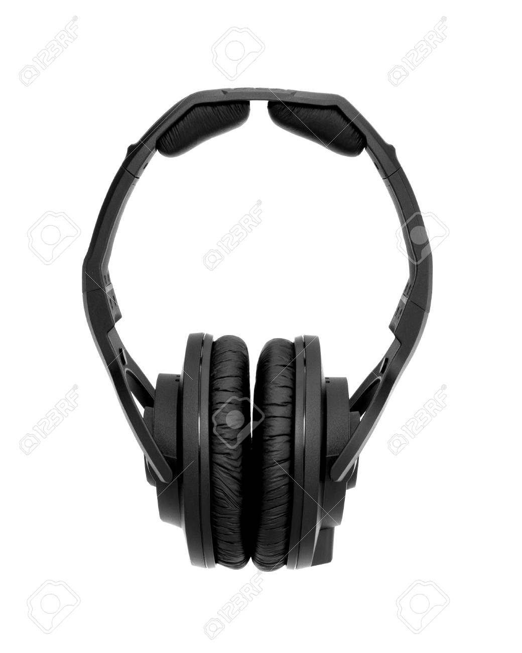 Headphones Isolated on a White Background Stock Photo - 10784334