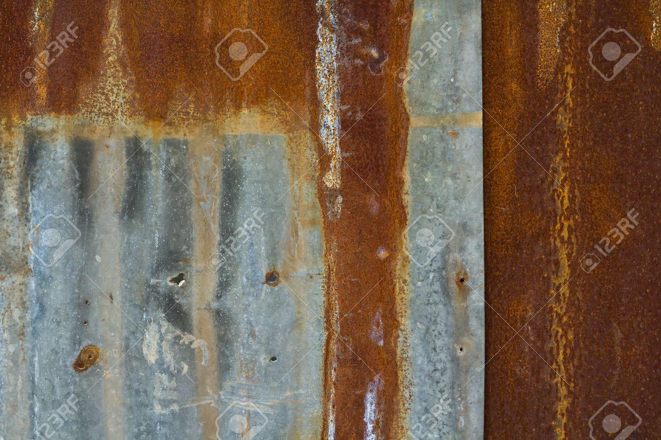 rusty metal fence Stock Photo - 9515257