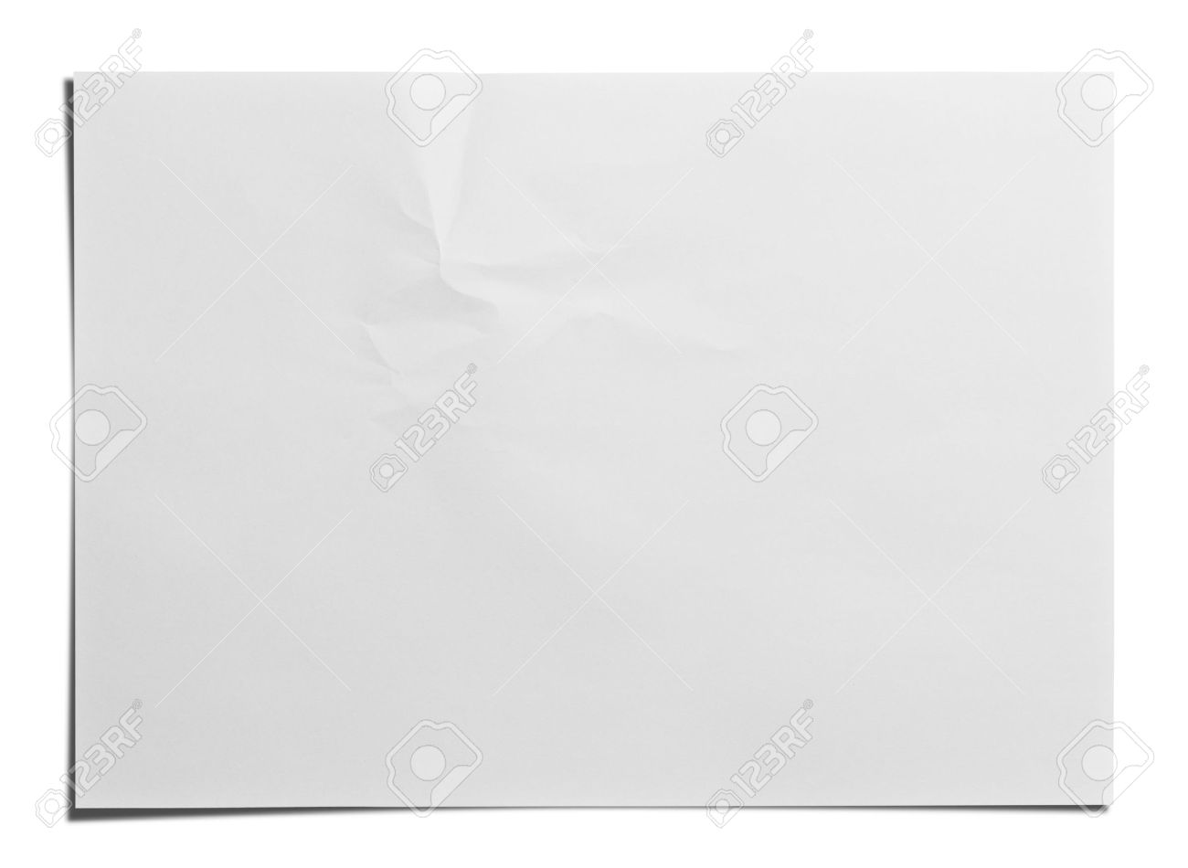 Paper Texture White Paper Sheet Stock Photo, Picture And Royalty ...
