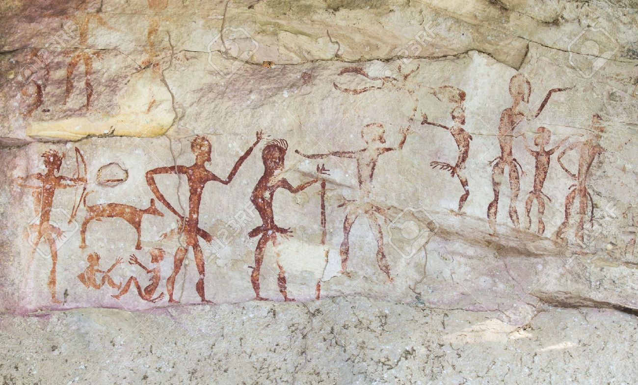 18836951-Famous-prehistoric-rock-paintin