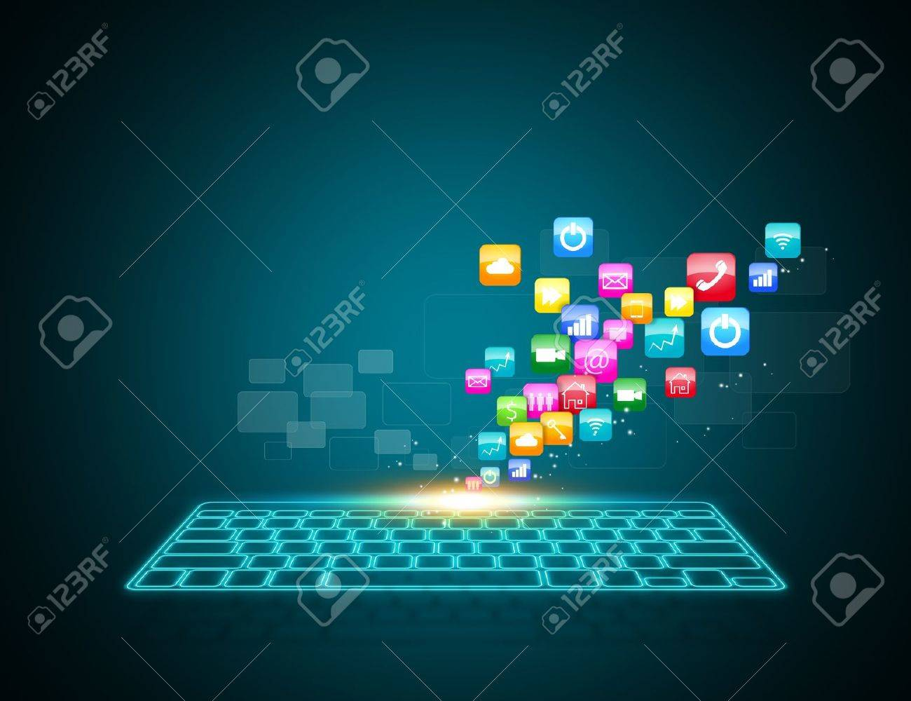 Computer keyboard as symbol of high technology stock photo computer keyboard as symbol of high technology stock photo 21427477 biocorpaavc