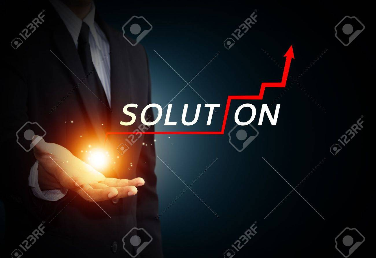 Hand holding a rising arrow, representing business growth Stock Photo - 21929013