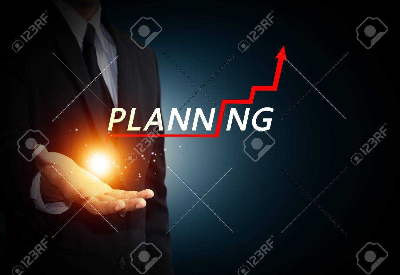 Hand holding a rising arrow, representing business growth Stock Photo - 21929056