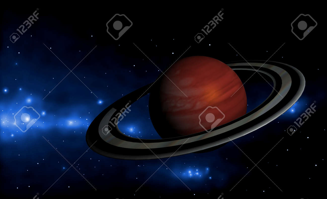extrasolar planet Stock Photo - 10682764