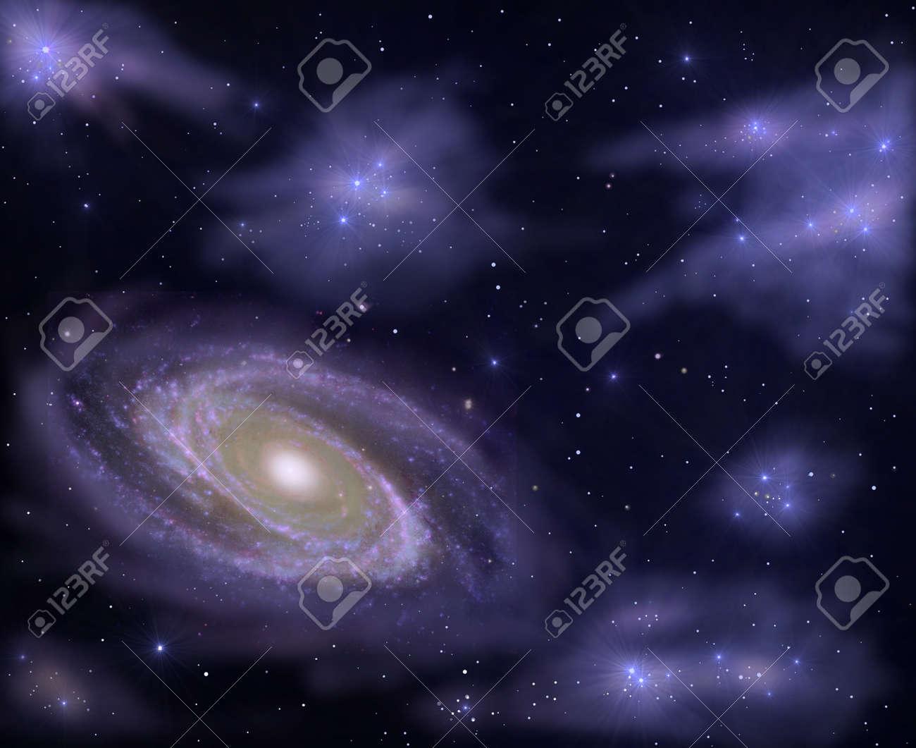 Deep Space Stock Photo - 10992473