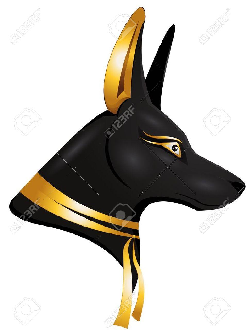 the egyptian god Anubis Stock Vector - 13524579
