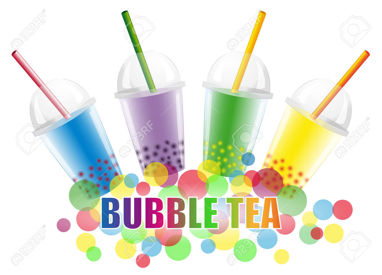 Bubble Tea Stock Vector - 14248495
