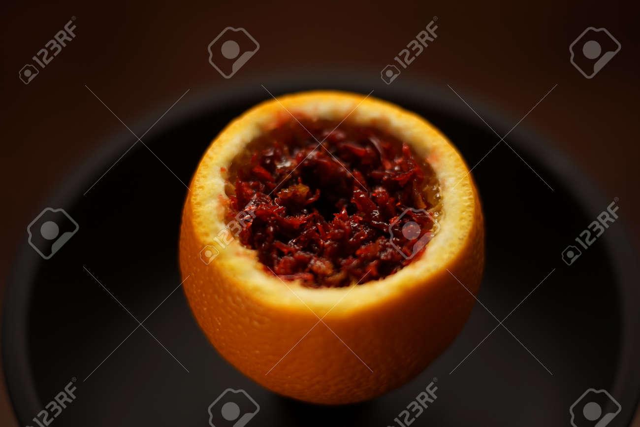 Preparation for Smoking fruit orange aroma hookah  Set fruit