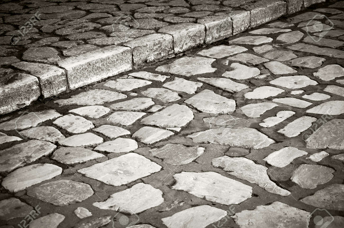 Natural Stone Paving Stock Photo, Picture And Royalty Free Image. Image 74175850.