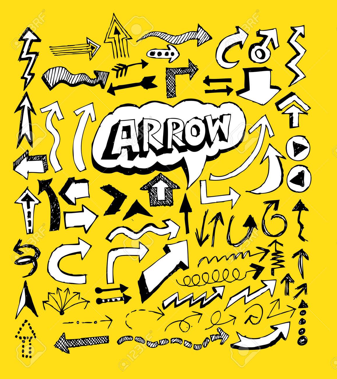 Arrow icon set Vector design Stock Vector - 22566231
