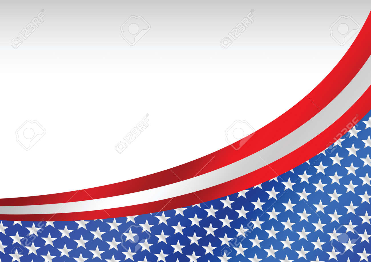 usa flag united states flag background stock vector 25699533