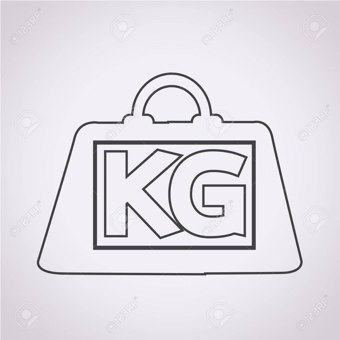 重量キログラム アイコンのイラスト素材・ベクタ - Image 38102312.