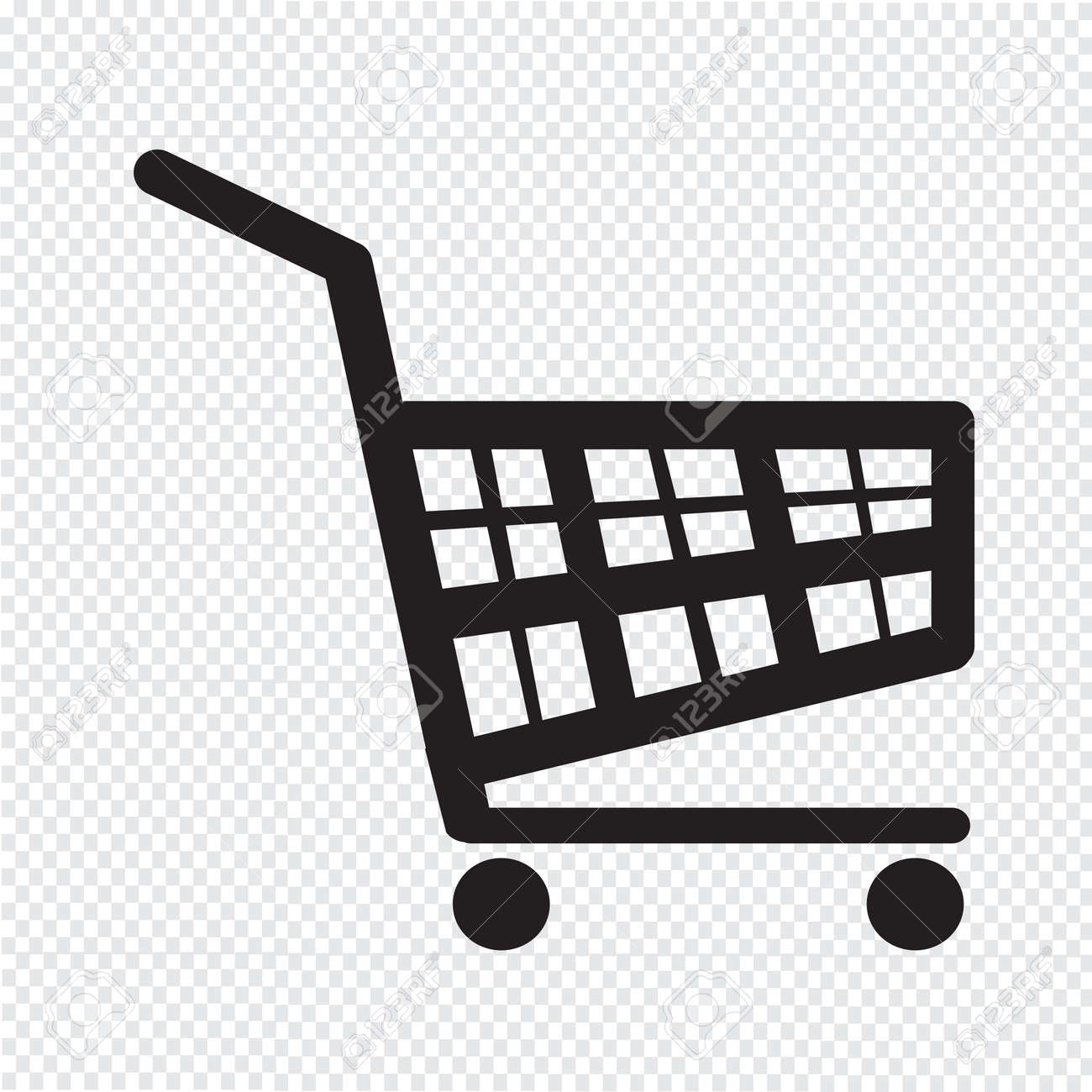 shopping cart icon royalty free cliparts vectors and stock