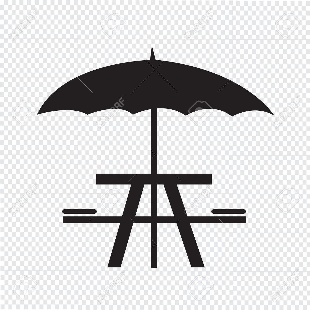 Umbrella with picnic table icon royalty free cliparts vectors umbrella with picnic table icon stock vector 39177796 biocorpaavc